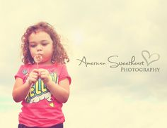 Dandelion wishes. 3 year old girls. ©American Sweetheart Photography 2012