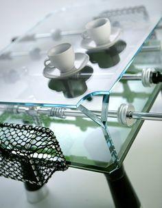 Foosball table, o Taca-Taca como decimos en Chile
