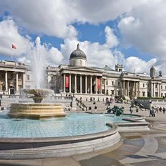 Trafalgar Square in London.  The website also has links to tons of other neat things to see and do in London.
