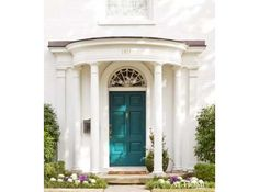 "Sherwin Williams ""Blue Peacock"" 0064, Front door color"