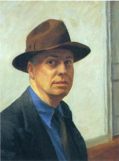 Edward Hopper-Self Portrait 1930