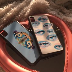 Cute Cases, Cute Phone Cases, Eye Phone Case, Iphone Cases Bling, Aesthetic Phone Case, Iphone Case Covers, Selfie Ideas, Tomboy, Overlays