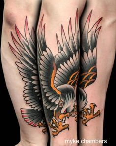 6b3b4bc32 37 Best Black Eagle Tattoo Amazing images in 2017   Tattoo for man ...