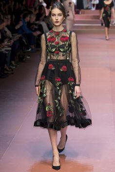 Dolce & Gabbana - MFW Feb '15
