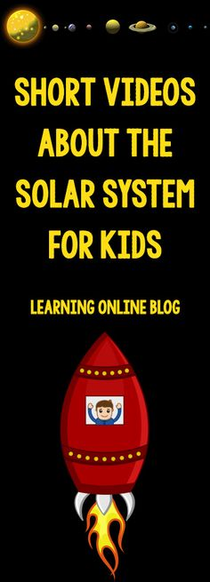 Your kids will love these short videos about the solar system!