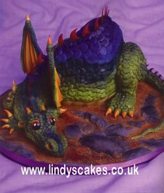 Wow Dragon Cake