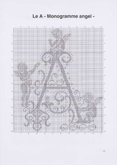 Вышиваем крестиком. МОНОГРАММЫ С АНГЕЛАМИ (4) (495x700, 171Kb)