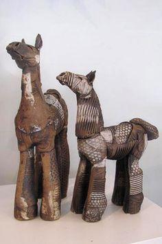 Horses by Fiona Tunnicliffe