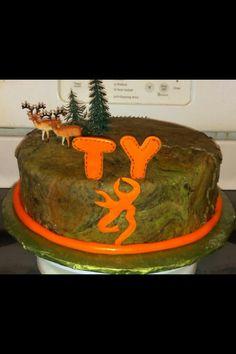 Deer hunter deer hunting cake