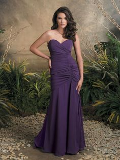Couture Bridesmaid Collection - 1604 Very pretty dress, love the purple!!