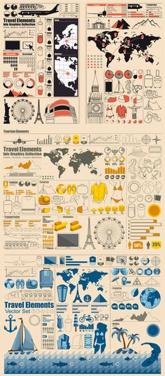 Statistical chart elements Vector Graphic - Vector Business free download