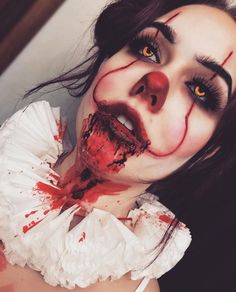 Im ready for Halloween makeup streams! Im ready for Halloween makeup streams! The post Im ready for Halloween makeup streams! appeared first on Halloween Makeup. Disfarces Halloween, Creepy Halloween Makeup, Halloween Karneval, Scary Halloween Costumes, Scary Makeup, Guys Makeup, Halloween Inspo, Halloween Drawings, Makeup Stuff