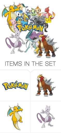 """""""Pokemon"""" by conversewolfy ❤ liked on Polyvore featuring art"""