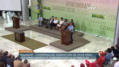 Dilma novamente participa de ato de incitação à violência