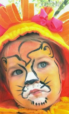 The BCW Lady says: Non Toxic face paint made with 3 household ingredients. Parents can paint kids up for Halloween or givethe paint to the children so they can explore (provide QTips and do it outdoors)    Make fabulous face art with this easy homemade face paint recipe