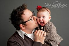 baby w daddy by Jen Schow Photography
