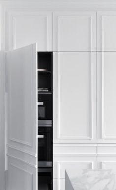 Minosa Design — The hidden kitchen | Mono Luxe |