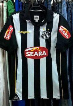 Camisa Santos Futebol Clube 2010 Umbro Usada Original Material Esportivo  Umbro 91bc261922797