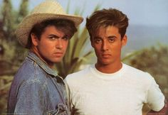 A fabulous poster of George Michael and Andrew Ridgeley of Wham! An original published in 1983!Fully licensed. Ships fast. 24x35 inches. Need Poster Mounts..?