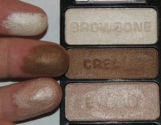 Wet N Wild WALKING ON EGGSHELLS Coloricon Eyeshadow Trio Review & Swatches