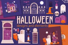 Halloween Designs and Elements