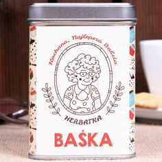 Herbata personalizowana KOCHANA BABCIA