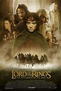 Lord Of The Rings - Tolkien's masterpiece. Posters from the movies
