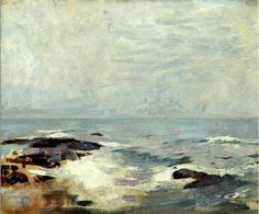 Ship's Rock, Ogunquit, c.1920 Emil Carlsen [1848-1932] Oil 20 x 24 inches Signed: ? Archives of American Art #: Provenance: Exhibitions: References: Notes: Price: