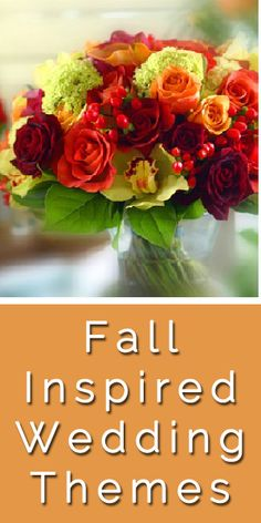 Fall Wedding Theme Decorating Ideas