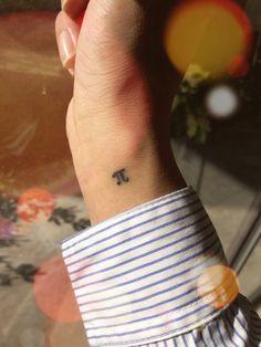 #pequeñotatuaje #tattoo #little #PI #3,14 #cute