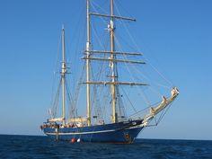 """Leeuwin"" Tall Ship, Port of Fremantle, Australia"