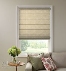 Good Housekeeping Roman Shades: Texture Screen - contemporary - roman blinds - by Blindsgalore Living Room Windows, Living Room Decor, Living Rooms, Traditional Roman Blinds, Bamboo Shades, Blinds For Windows, Skylight Blinds, Window Blinds, Bay Window