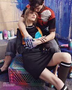 Suvi Koponen by Benny Horne for Vogue Korea April 2014 4