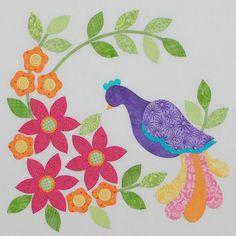 Quilt designs I like! Quilt Block Patterns, Applique Patterns, Applique Designs, Quilt Blocks, Quilt Designs, Bird Applique, Machine Applique, Applique Quilts, Vogel Quilt