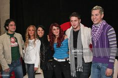 Alfonso Herrera, Anahi, Maite Perroni, Dulce Maria, Christopher Uckermann and Christian Chavez of RBD attends a press conference to announce their new album Empezar Desde Cero held at EMI Music on November 27, 2007 in Mexico City.