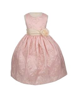 Elegant Ball Gown Round-Neck Floor-length Flower & Bowknot  Flower Girl Dress