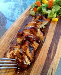 Easy 2 step balsamic chicken