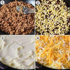Ground Chicken, Ground Beef, Pie Recipes, Casserole Recipes, Sloppy Joe Casserole, Recipe Box, Bon Appetit, Mashed Potatoes, Hamburger