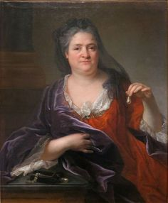 Elisabeth Charlotte, Princess Palatine, duchesse d'Orléans, 1700 by Andre Bouys (1656-1740) (Musee Municipal Bernard d'Agesci)