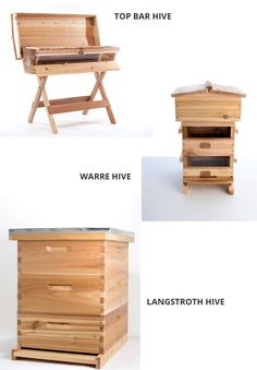 ❧ The Best Bee Hive? (This is the BEST site for explaining the different types of hives I've seen) Langstroth Hive, Honey Bee Hives, Honey Bees, Types Of Bees, Top Bar Hive, Bee Hive Plans, Buzz Bee, Raising Bees, Bee Boxes