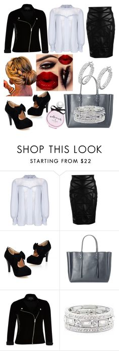 """""""Feeling Hella Sexy 😍"""" by yortiz1974 ❤ liked on Polyvore featuring Ghost, Versace, Lanvin, River Island, Sole Society and Kate Spade"""