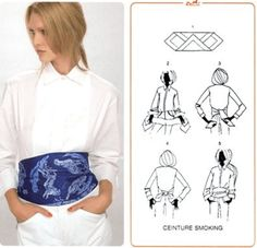 Mil formas de usar tu foulard… | Aylen Milla