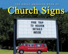 Best Church Sign Sayings | Ghetto Church Signs… » 1ChurchSignCoverFromBookjpeg650pix
