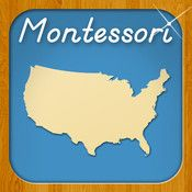 Montessori Approach To Geography HD- United States of America