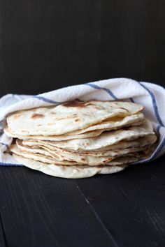 Video: How to Make Tortillas - these easy homemade tortillas are ultra soft, chewy, and tasty! from @Handle the Heat | Tessa Arias