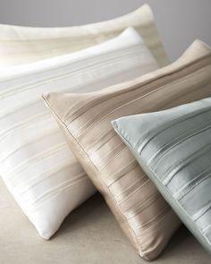 """Donna Karan Home Lustre Pillow, 11"""" x 22"""" - Horchow"""