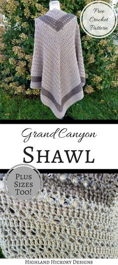 I adore shawls! With this pattern, I kind of worked backwards in my design. First I picked the yarn. This pattern uses the Lion Brand Heartland yarn. This is the first time I've ever worked with this and I tell you what…I don't think I've ever felt a softer yarn.[Read more]