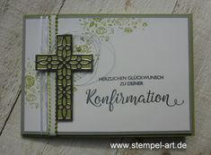 StempelArt | Britta Timm – unabhängige Stampin´up! Demonstratorin aus Altenholz bei Kiel Confirmation Cards, Edible Wedding Favors, Fabric Crafts, Paper Crafts, Get Well Cards, Baby Scrapbook, Sympathy Cards, Stamping Up, Homemade Cards