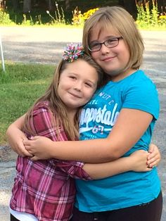 Me and my sister, Chloe