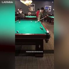 Everybody loves a game of pool